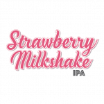 Strawberry Milkshake IPA Logo